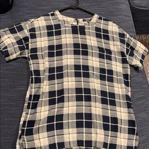 Madewell xs short sleeve blouse